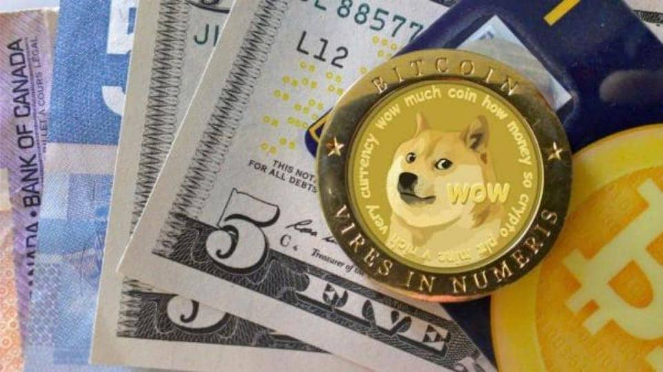 dogecoin and debit card
