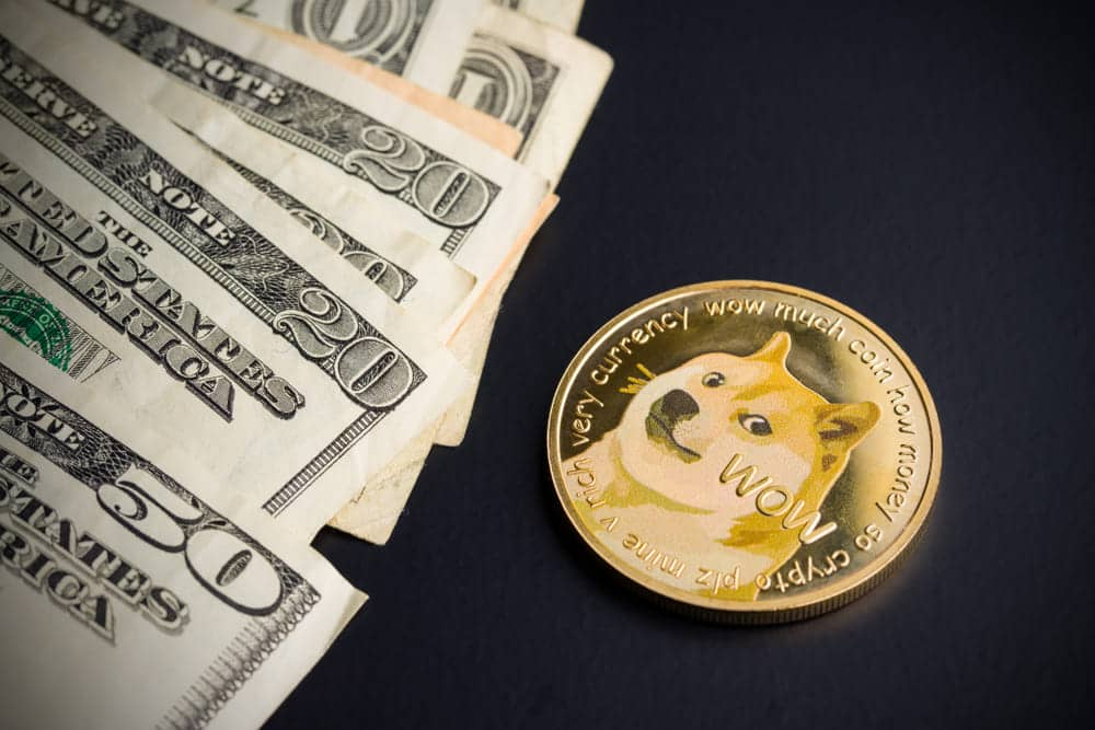 cryptocurrency exchange dogecoin into real us dollars