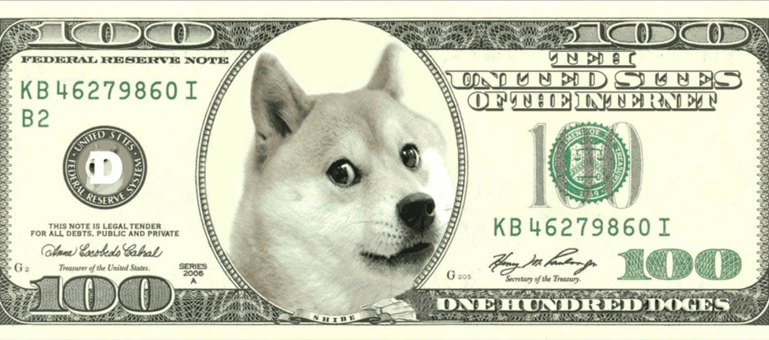 exchange dogecoin with us dollar