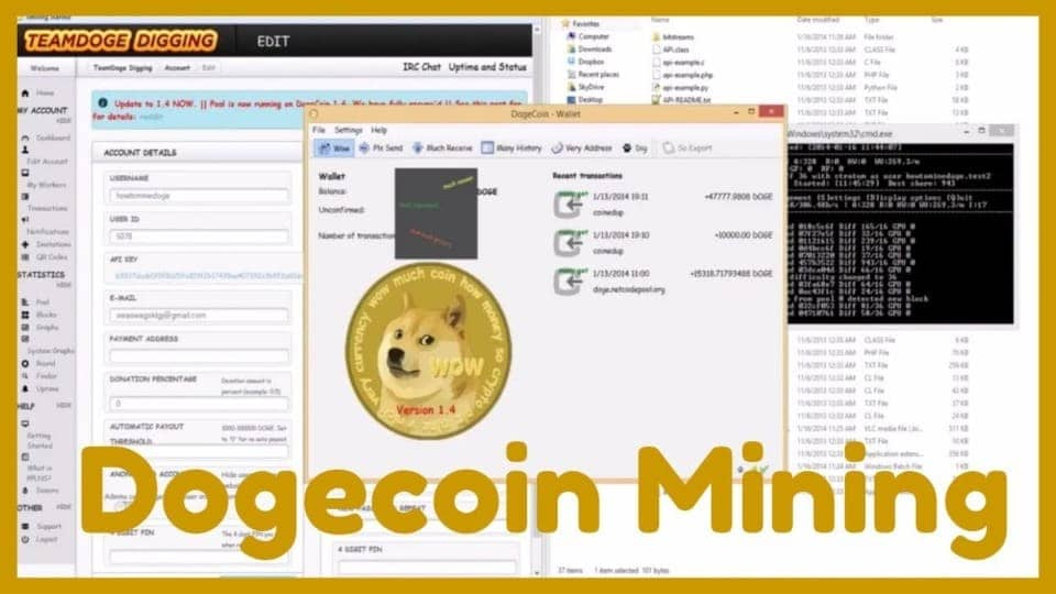 Free softwares for mine dogecoin