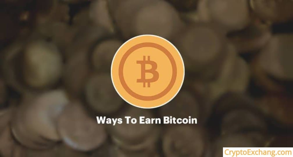 different ways to earn bitcoin